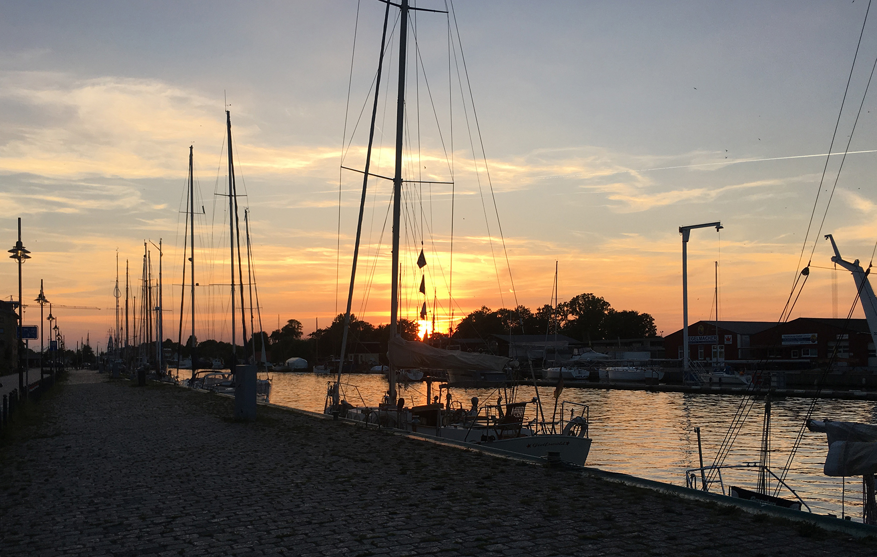 Museum Harbor in Greifswald